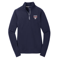 KHDS Strong Ladies Textured Sport-Wick 1/4 Zip (3 colors)