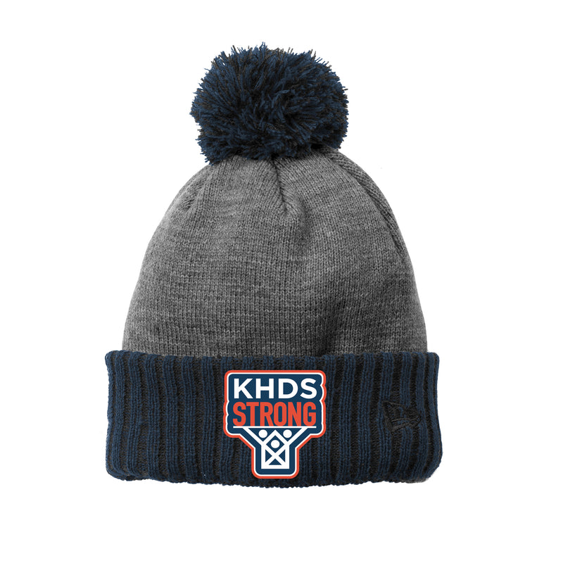 KHDS Strong Colorblock Cuffed Beanie