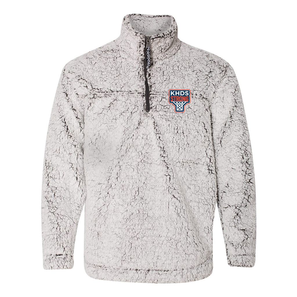 KHDS Strong Adult Sherpa 1/4 zip
