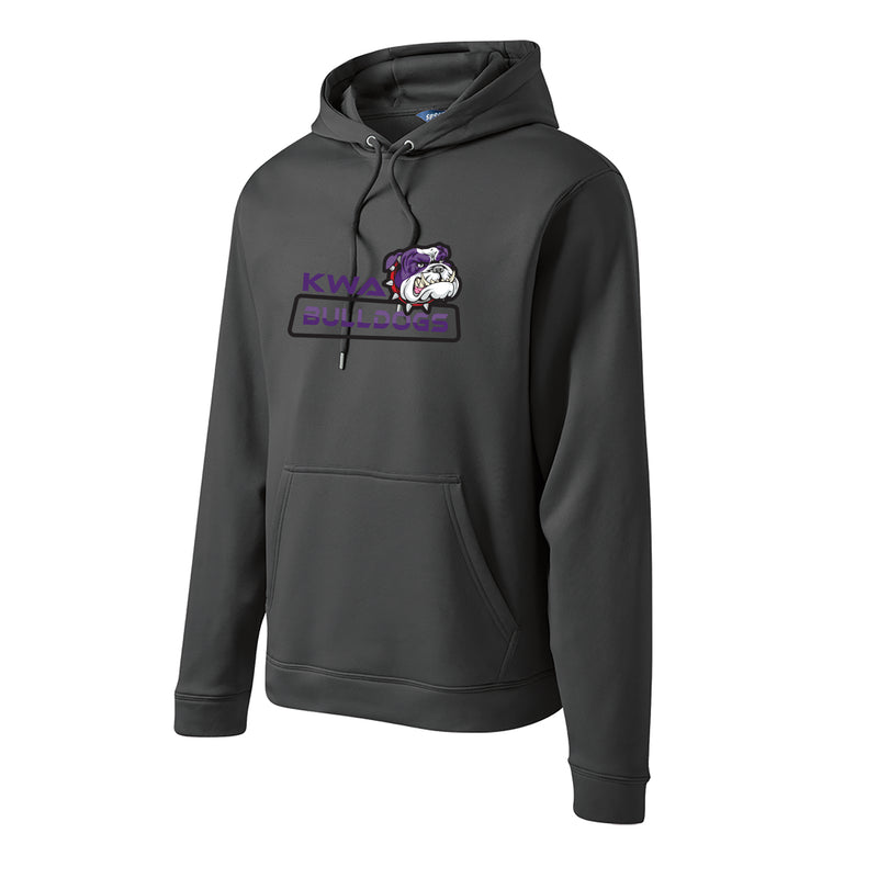 KWA Adult Sport-Wick® Fleece Bulldogs Hoodie (2 colors)