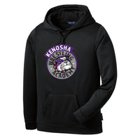 KWA Adult Sport-Wick® Fleece Medallion Hoodie (2 colors)