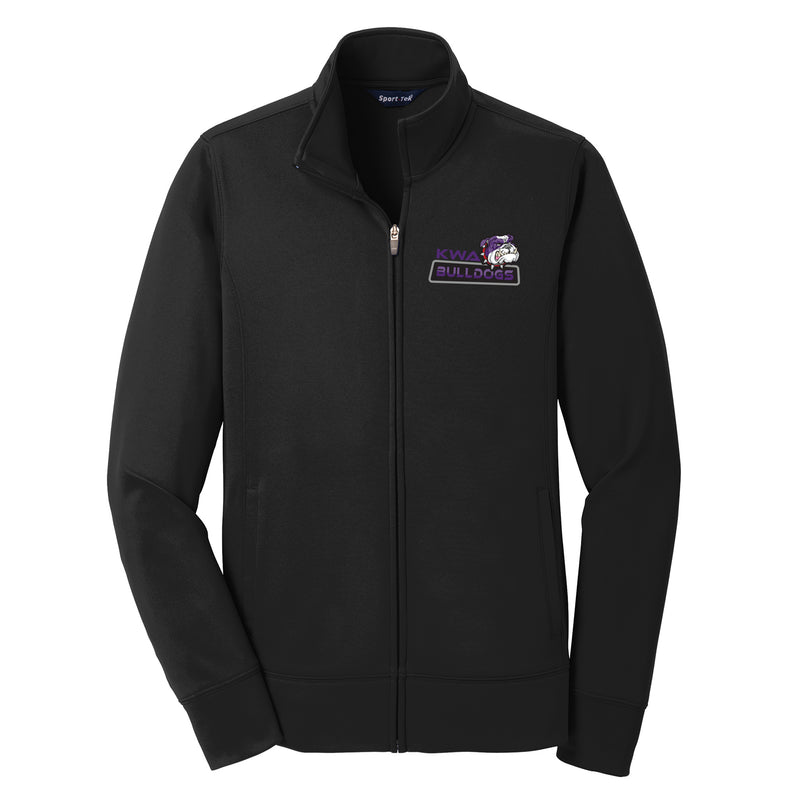 KWA Ladies Sport-Wick® Fleece Bulldogs Full-Zip Jacket (2 Colors)