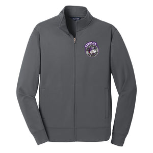 KWA Ladies Sport-Wick® Fleece Medallion Full-Zip Jacket (2 Colors)