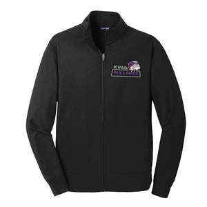 KWA Adult Sport-Wick® Fleece Bulldogs Full-Zip Jacket (2 Colors)