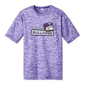 KWA Adult Performance Electric Heather Bulldogs T-Shirt (2 colors)