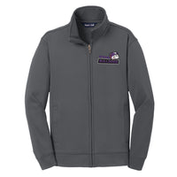 KWA Youth Sport-Wick® Fleece Bulldogs Full-Zip Jacket (2 Colors)