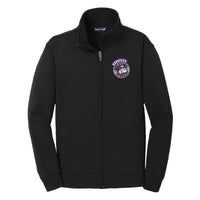 KWA Youth Sport-Wick® Fleece Medallion Full-Zip Jacket (2 Colors)