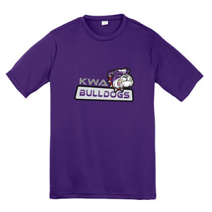 KWA Youth Performance Bulldog T-Shirt (3 Colors)