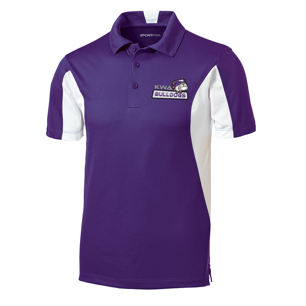 KWA Adult Bulldogs Colorblock Polo