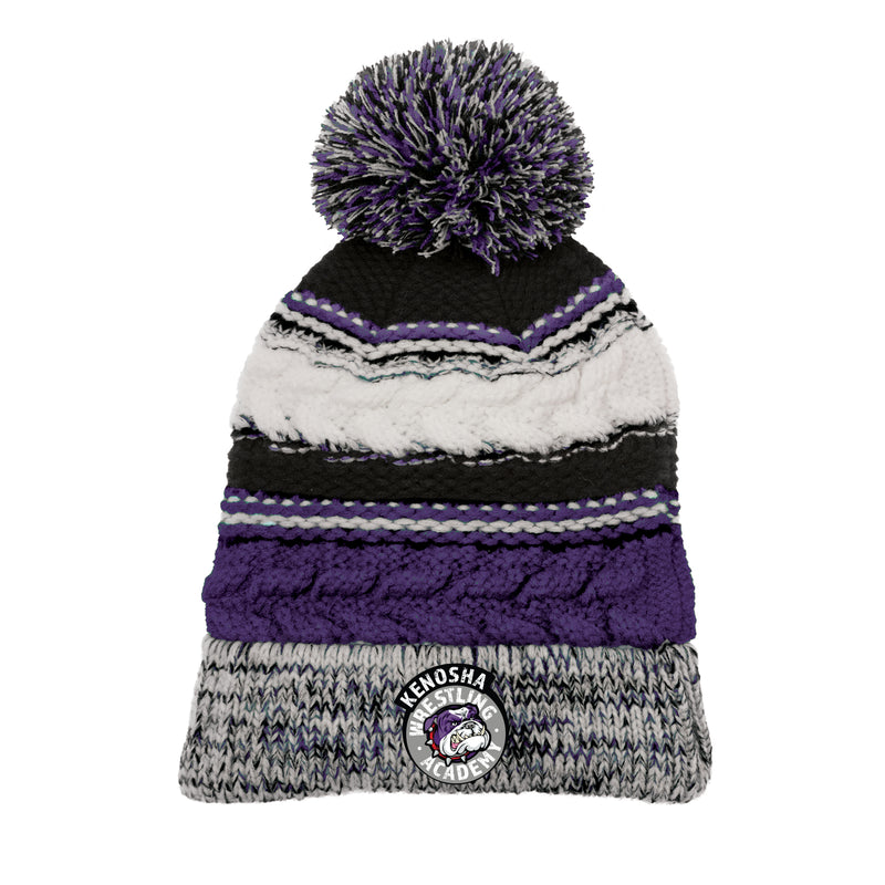 KWA Medallion Team Pom Beanie