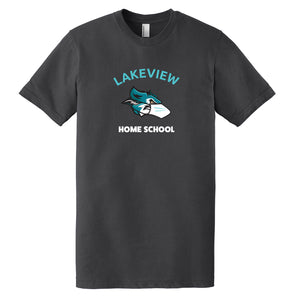 Lakeview Home School Premium Adult T-Shirt