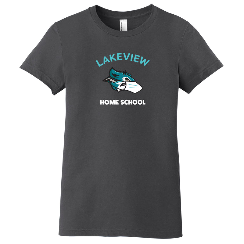 Lakeview Home School Premium Ladies T-Shirt