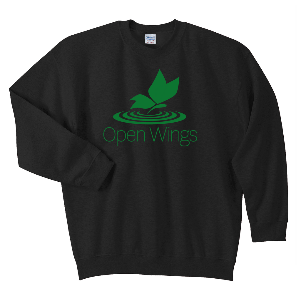 Open Wings Adult Essential Crew Neck Sweatshirt