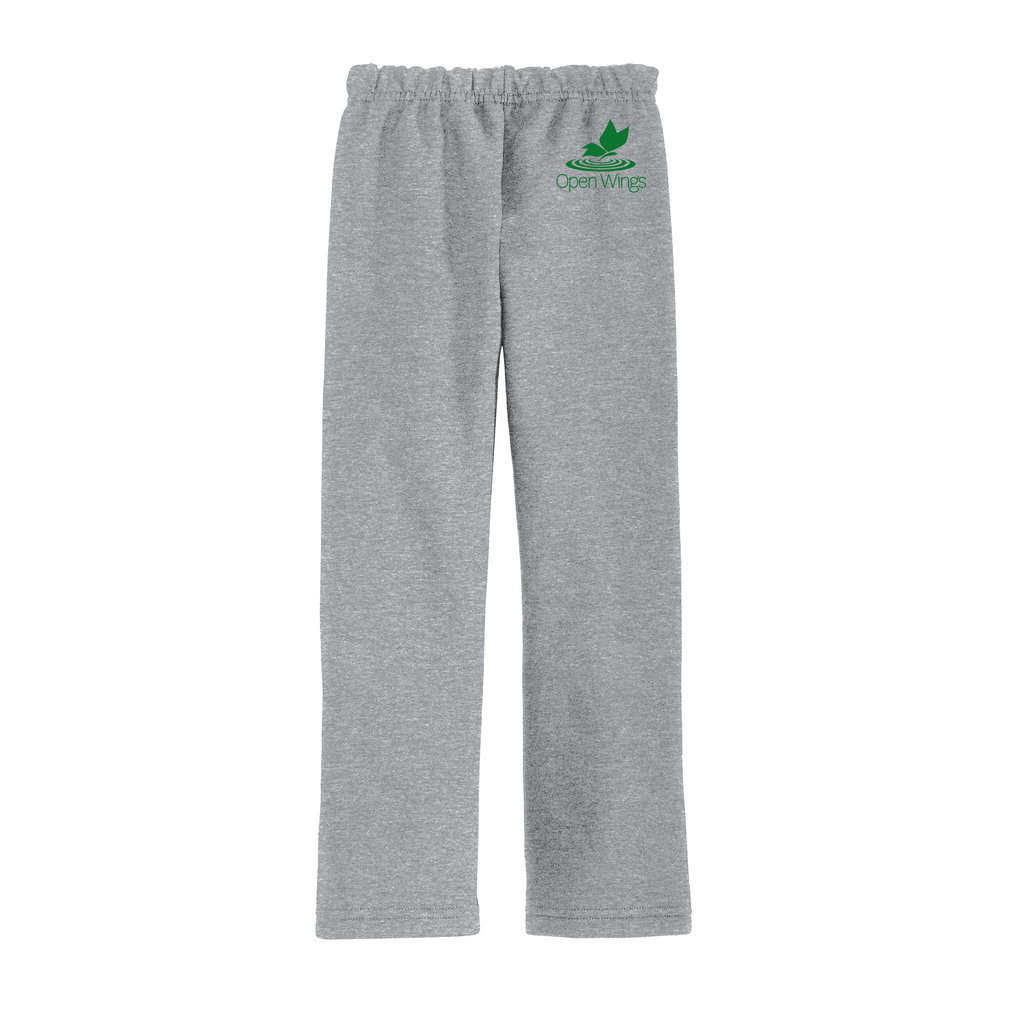 Open Wings Adult Essential Open Bottom Sweatpant