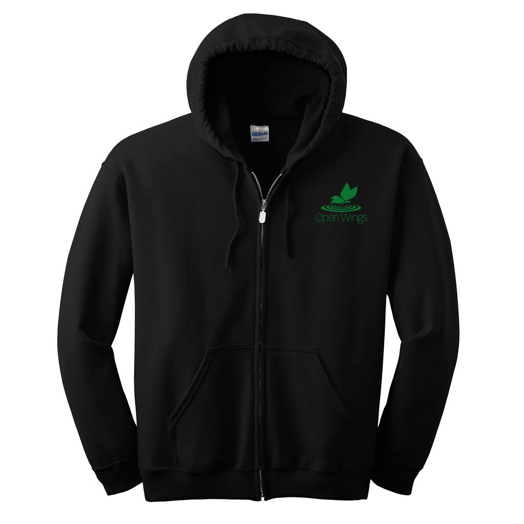 Open Wings Adult Essential Zip Hoodie