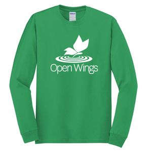Open Wings Adult Essential Long Sleeve T-Shirt (4 colors)