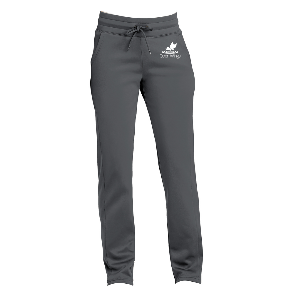 Open Wings Ladies Sport-Wick Fleece Pant