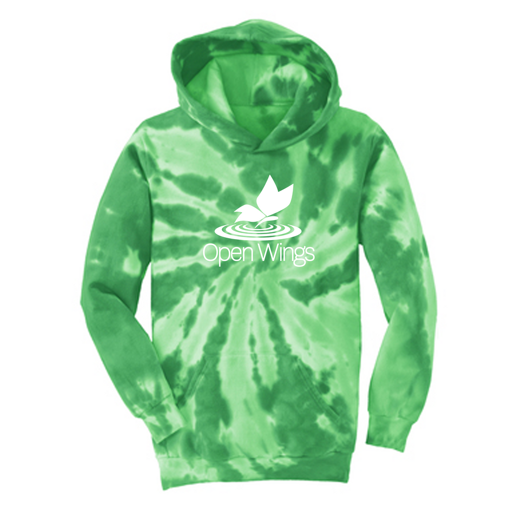 Open Wings Youth Tie-Dye Hoodie