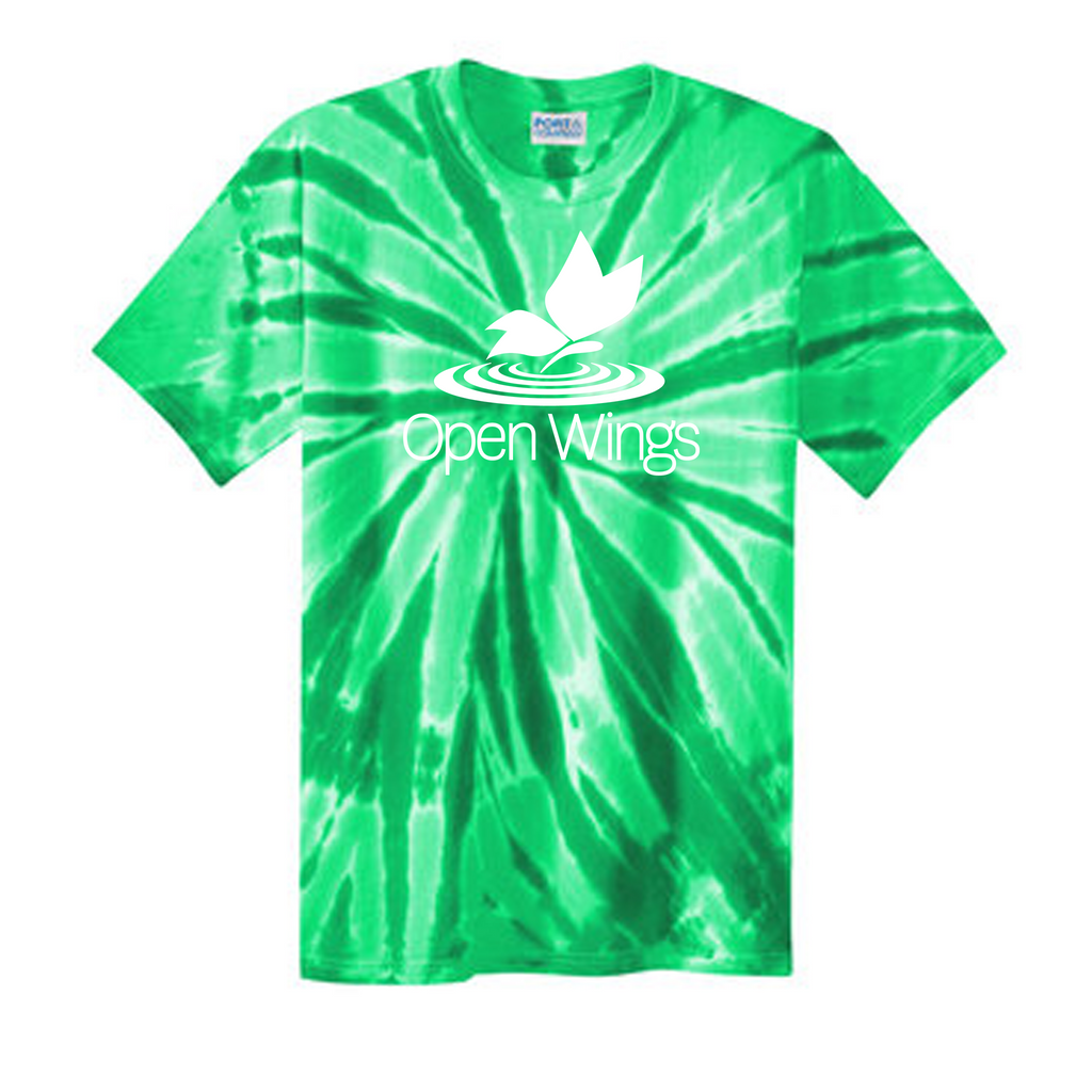 Open Wings Adult Tie-Dye Tee