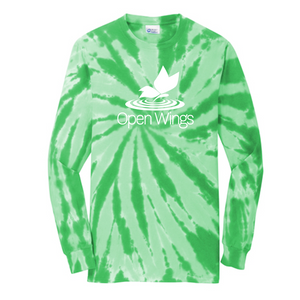Open Wings Adult Tie-Dye Long Sleeve Tee
