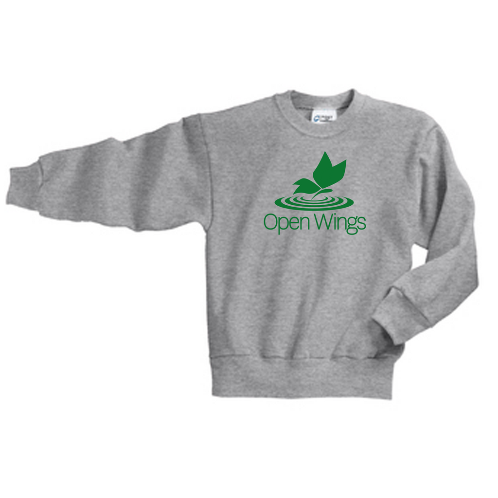 Open Wings Youth Essential Crew Neck Sweatshirt (4 colors)