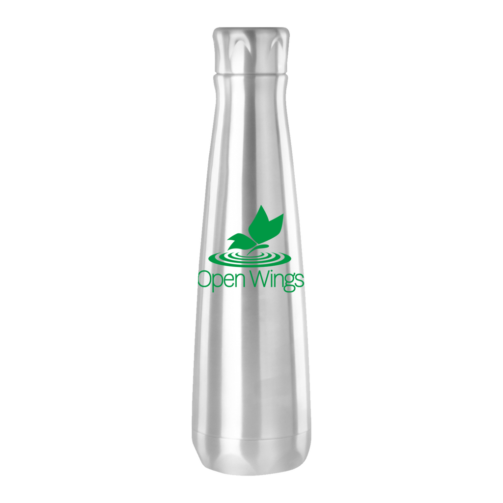 Open Wings Stainless Water Bottle  16 oz