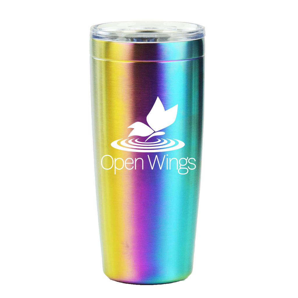 Open Wings Tumbler Rainbow 20 oz