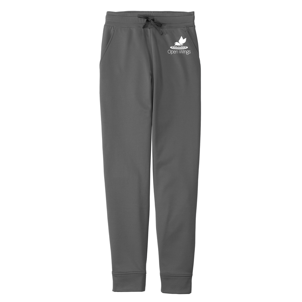 Open Wings Adult Sport-Wick Fleece Jogger