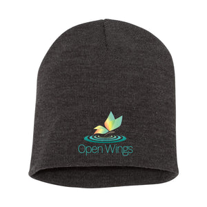 Open Wings Knit Beanie (3 colors)