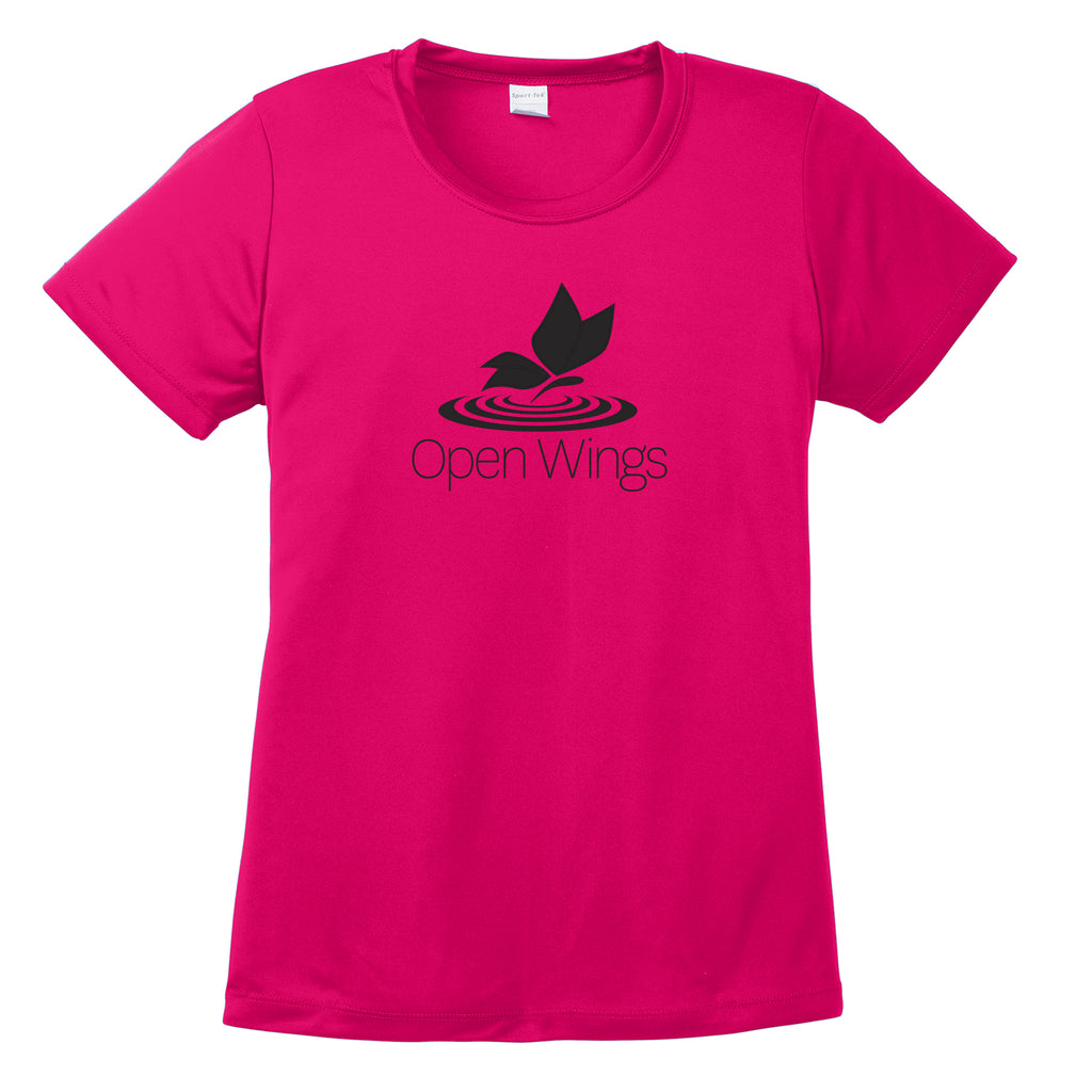 Open Wings Ladies Performance T-Shirt (7 colors)