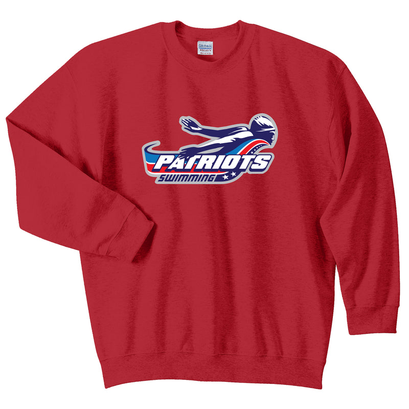 Patriots Adult Essential Crew Neck Sweatshirt (3 Colors)