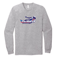 Patriots Adult Long Sleeve T-Shirt (3 Colors)