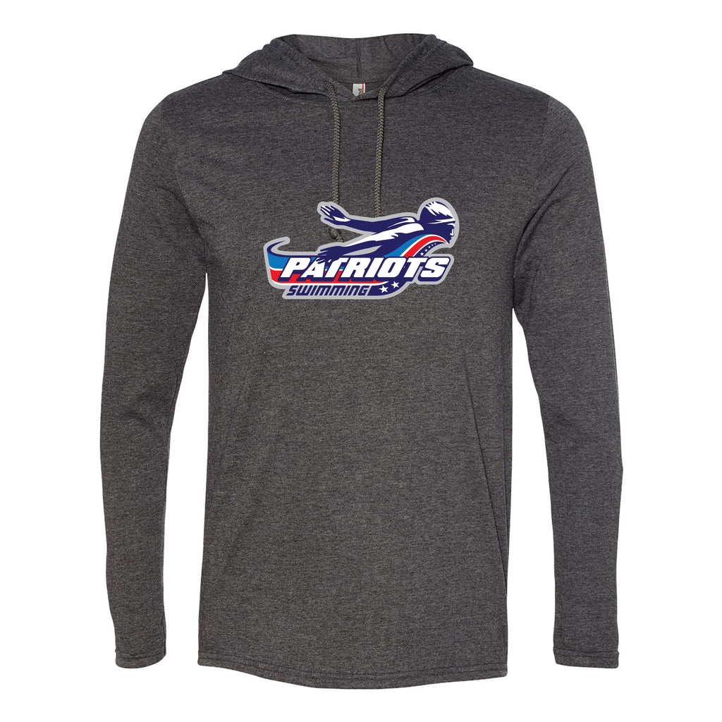 Patriots Adult Hooded Long Sleeve T-Shirt (3 Colors)