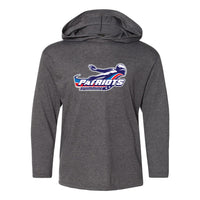 Patriots Youth Hooded Long Sleeve T-Shirt (3 Colors)