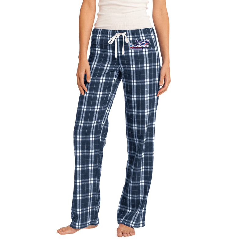 Patriots Ladies Flannel Plaid Pant