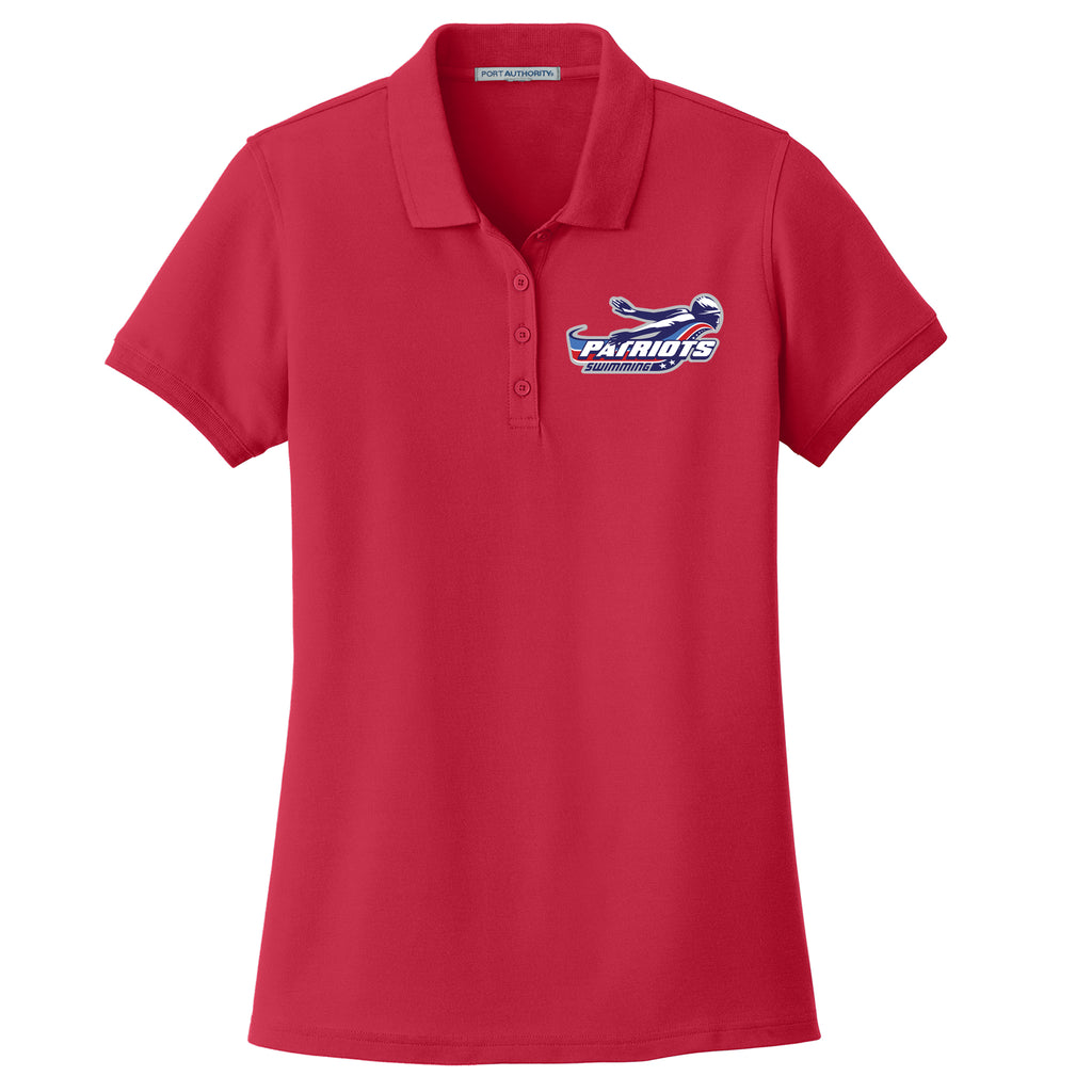 Patriots Ladies' Pique Polo (3 colors)