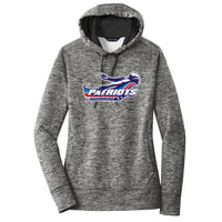 Patriots Ladies Electric Heather Sport-Wick Hoodie (3 colors)
