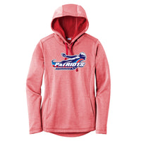 Patriots Ladies Heathered Sport-Wick Hoodie (3 colors)