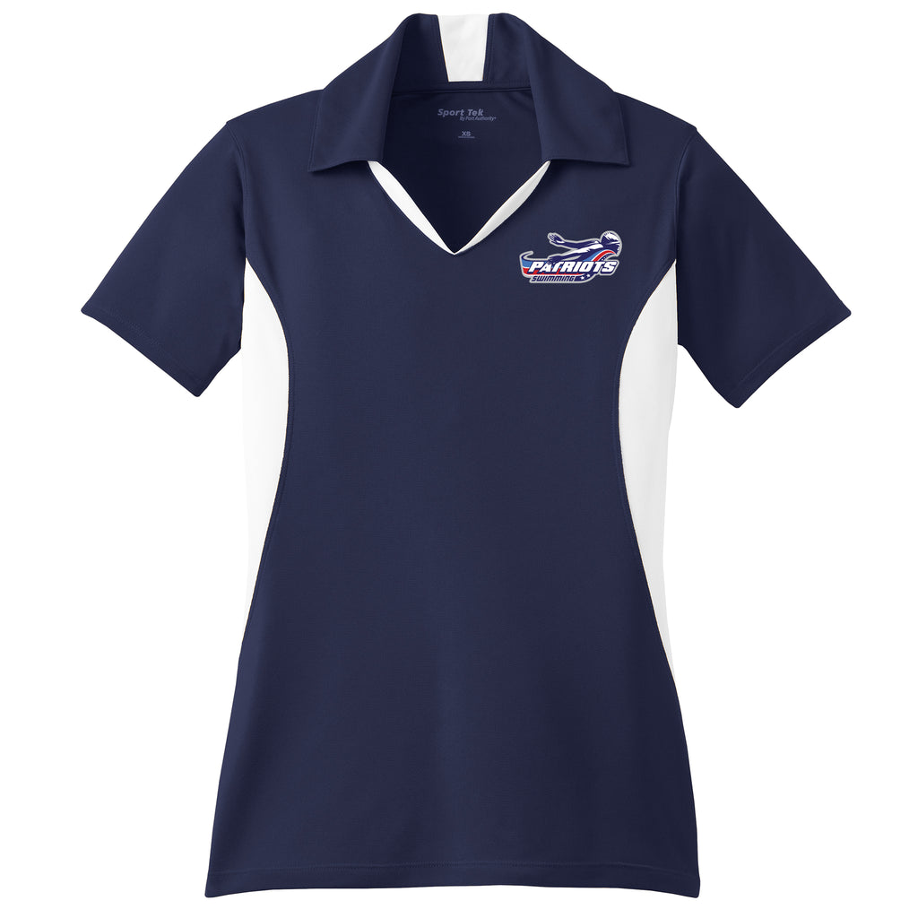 Patriots Ladies Colorblock Polo