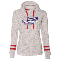 Patriots Ladies Scuba Neck Hoodie (2 colors)