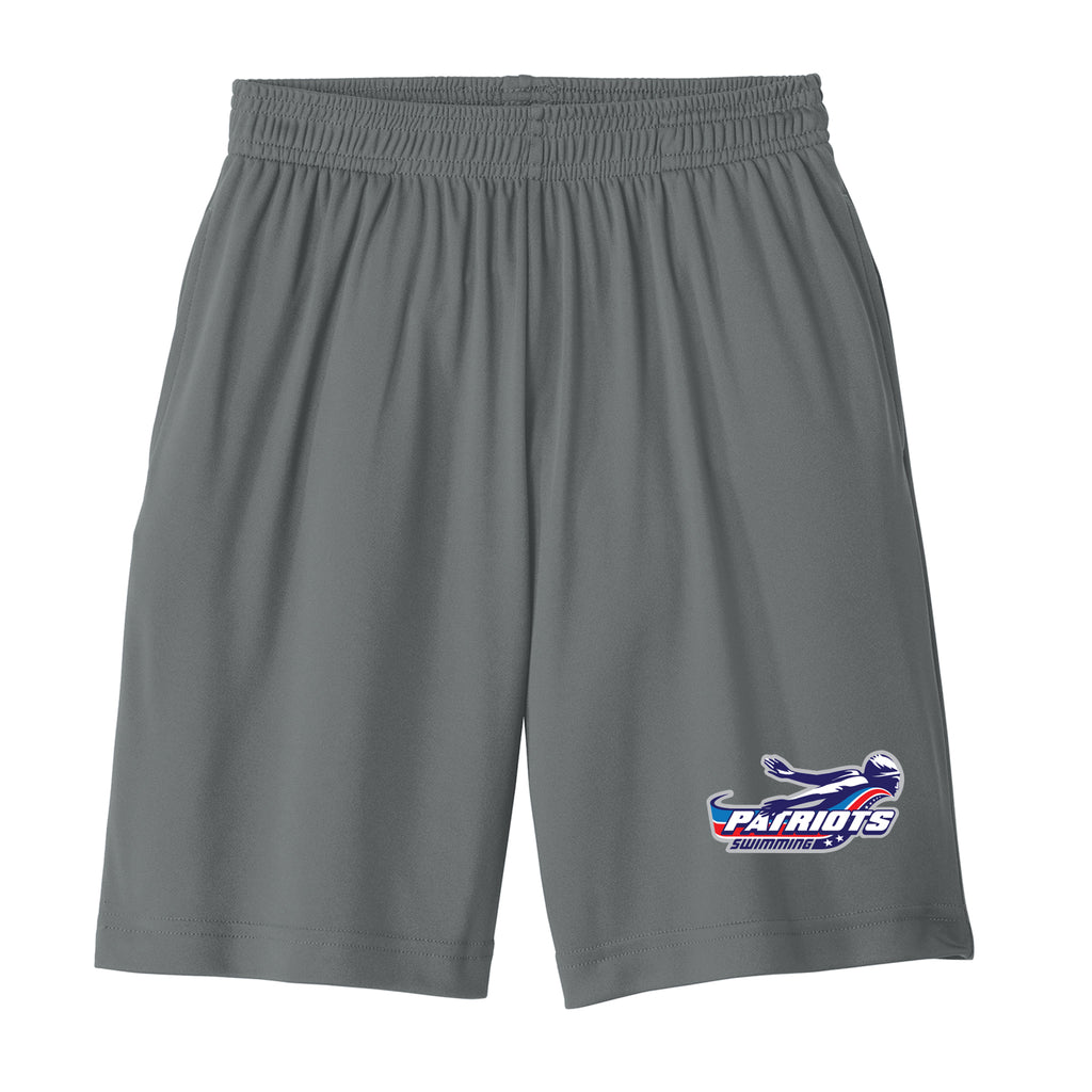 Patriots Adult Athletic Shorts with Pockets (2 colors)