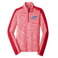 Patriots Adult Sport-Wick 1/4 Zip Pullover (2 colors)