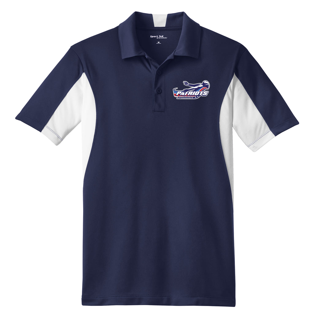 Patriots Adult Colorblock Polo