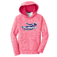 Patriots Youth Electric Heather Sport-Wick Hoodie (4 colors)