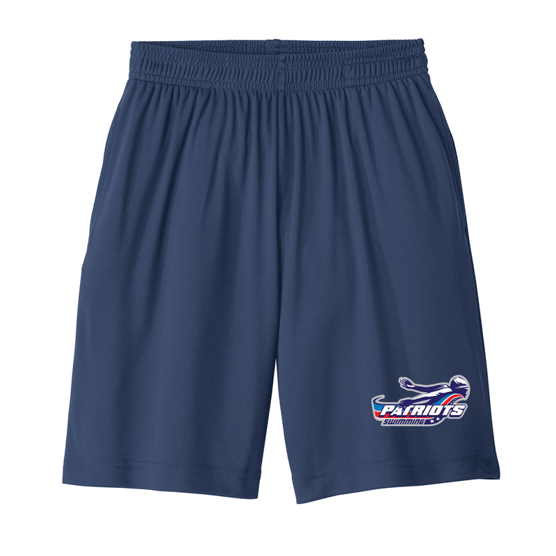 Patriots Youth Athletic Shorts with Pockets (2 colors)