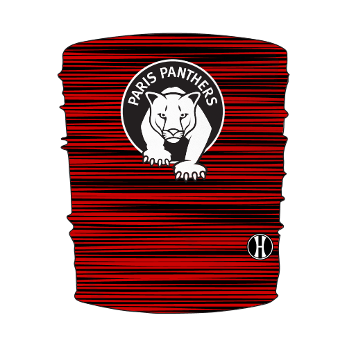 Paris Youth Paris Panthers Neck Gaiter - Personalized Early Order