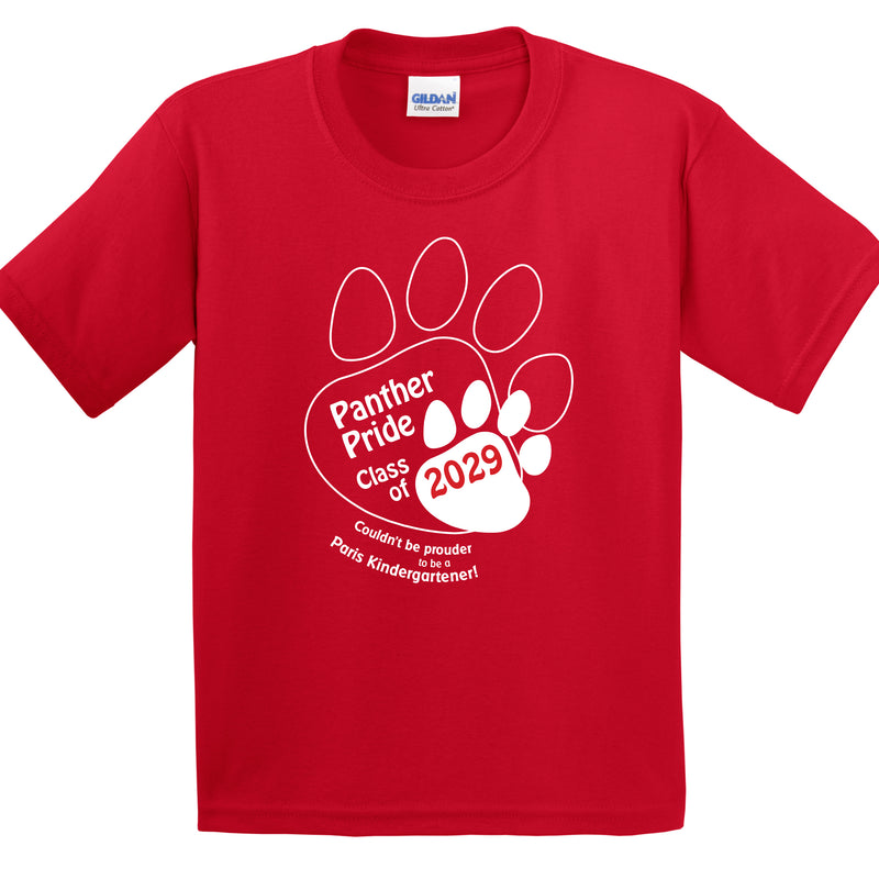 Paris Group Order Youth Kindergarten T-Shirt