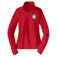 Paris Ladies Sport-Wick Stretch 1/2 Zip Pullover (3 colors)