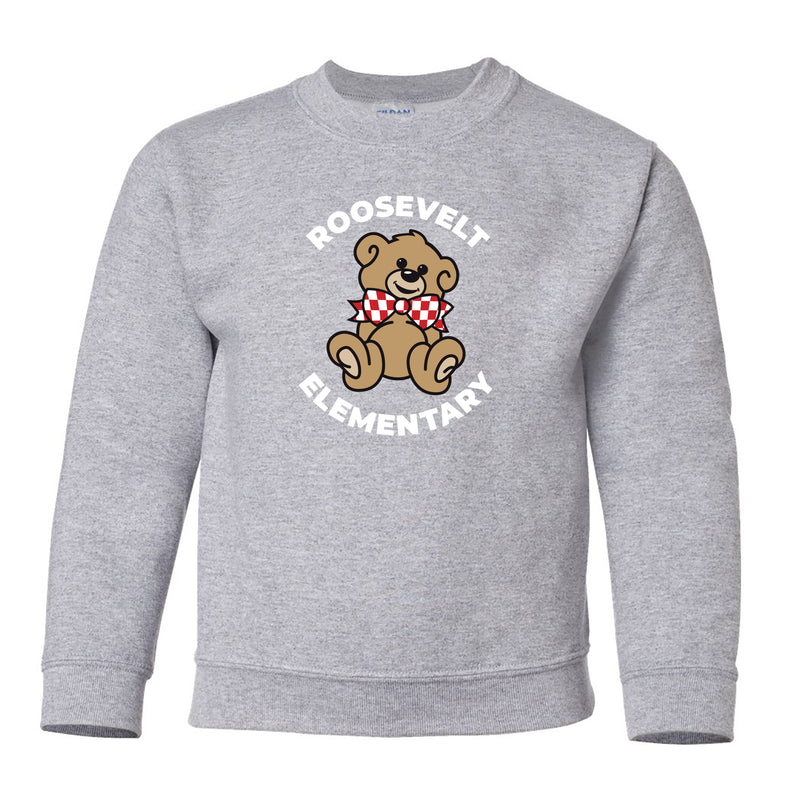 Roosevelt Youth Essential Crew Neck Sweatshirt (2 Colors)