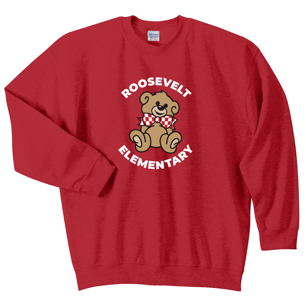 Roosevelt Adult Essential Crew Neck Sweatshirt (2 Colors)